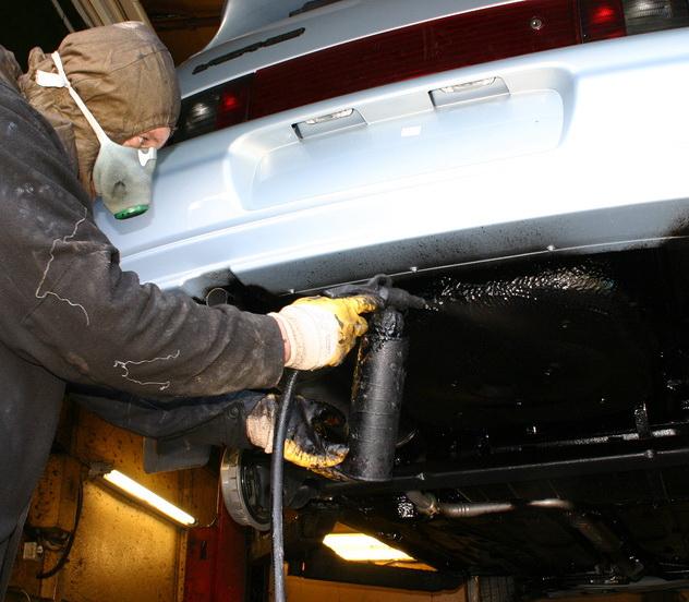 Своими руками обработка автомобиля