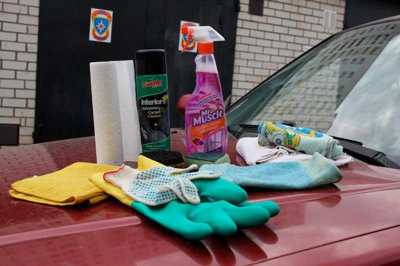 Химия для чистки автомобиля своими руками 94