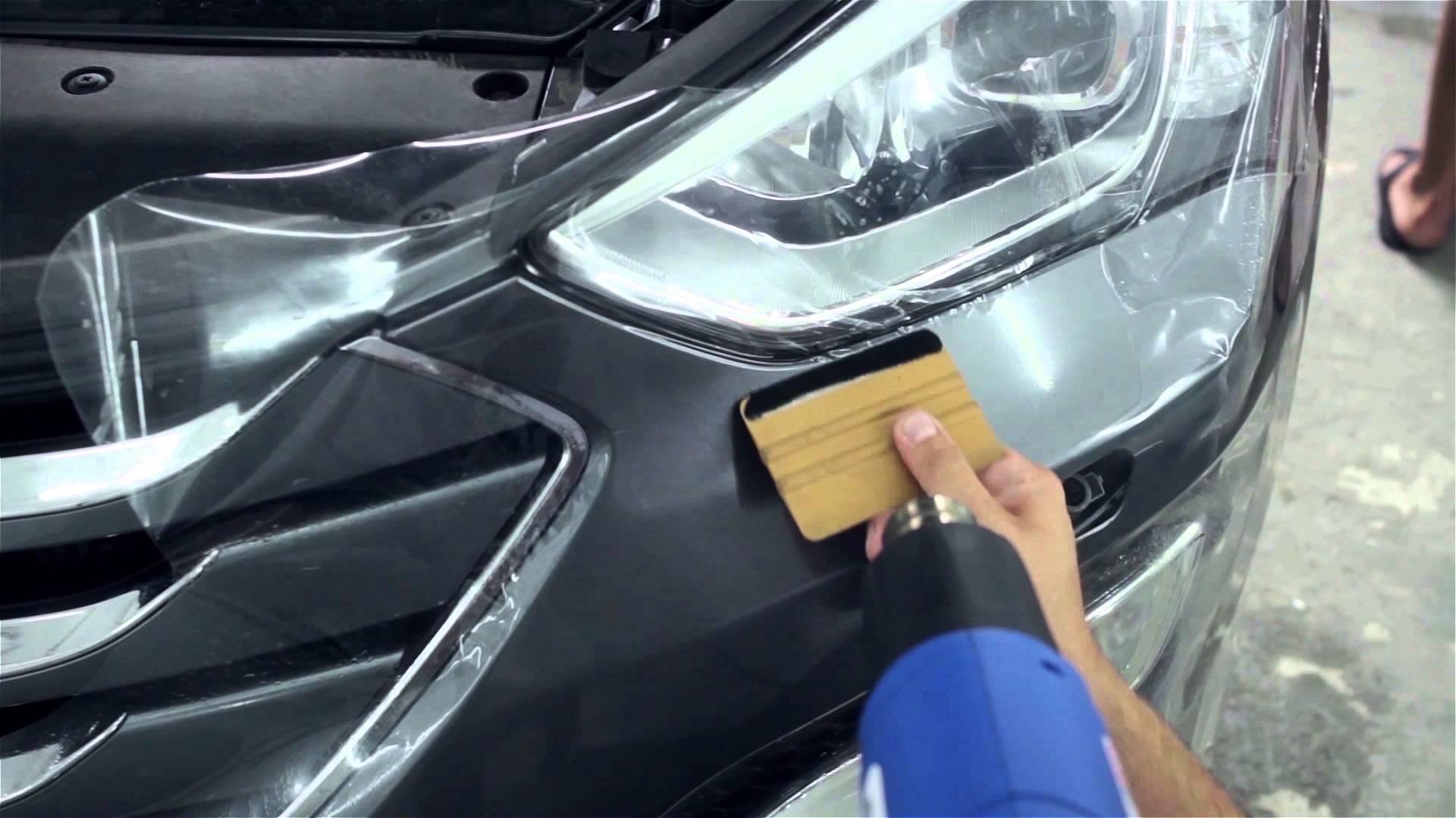 Пленка для кузова автомобиля своими рука