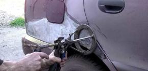 Что полезно знать о рихтовке кузова автомобиля