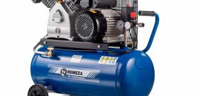 Покупка компрессоров Ремеза для небольшого производства