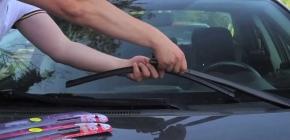 Как правильно снять и заменить дворники на машине, методы крепления