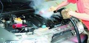 Сухая мойка двигателя автомобиля: правила безопасной очистки двс