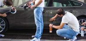 Об основных способах полировки кузова автомобиля