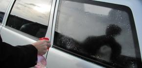 Особенности тонирования стёкол авто своими руками