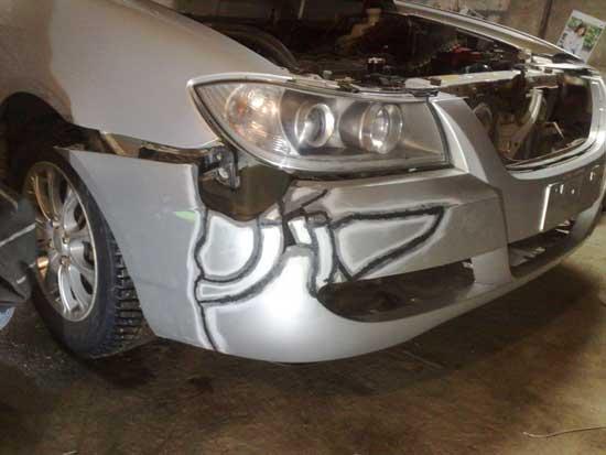 Узнайте, как самому качественно спаять пластиковый бампер автомобиля...