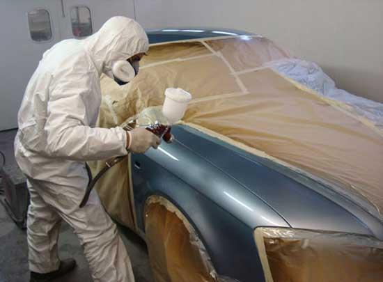 Локально покрасить автомобиль своими руками