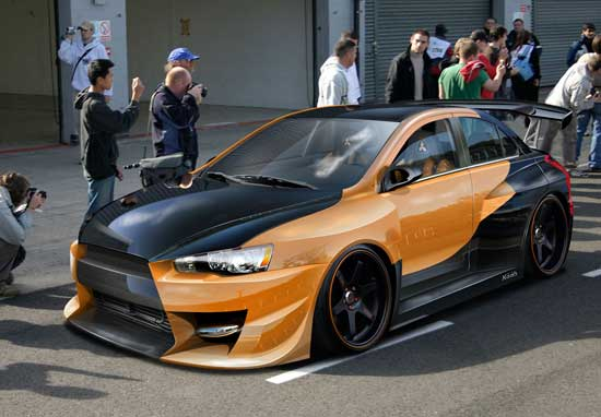 Поэтапная покраска автомобилей