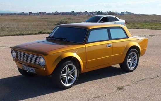 Одним из эффектных приемов модернизации ВАЗ 2101 стала переделка седана в купе, и это превратилось в отдельное направление.