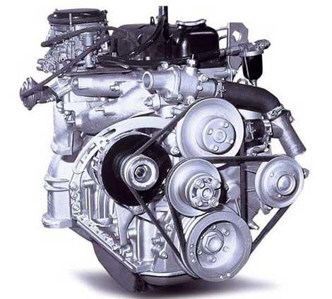 Двигатель ЗМЗ 402 прост и достаточно надежен, при этом отлично совмещается с трансмиссией УАЗ 469 по силовым параметрам.