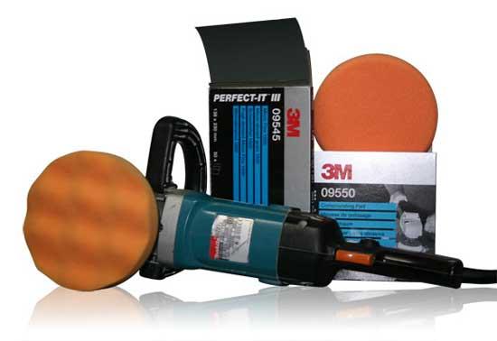 Профессиональная система полировки 3М во многих случаях позволяет добиться практически идеального результата.