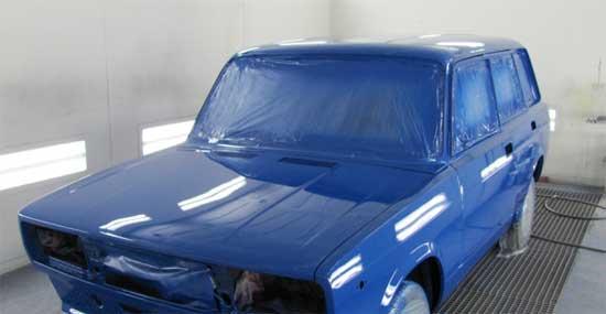 Полная покраска автомобиля возможна без демонтажа стекол...