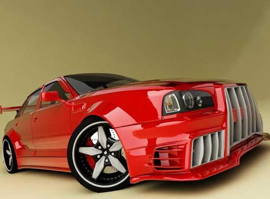 Ультрасовременный тюнинг способен изменить до неузнаваемости любой автомобиль, в том числе и Ауди 80...