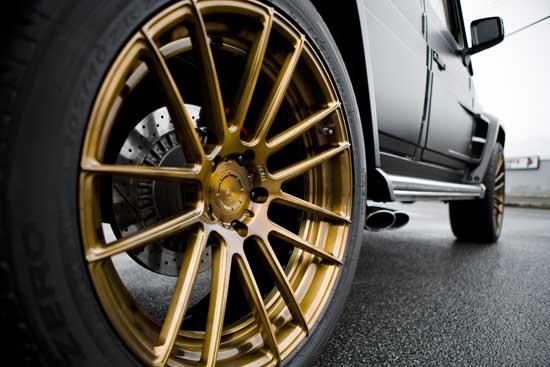 Колеса автомобиля могут рассказать о своем владельце не меньше, чем его обувь