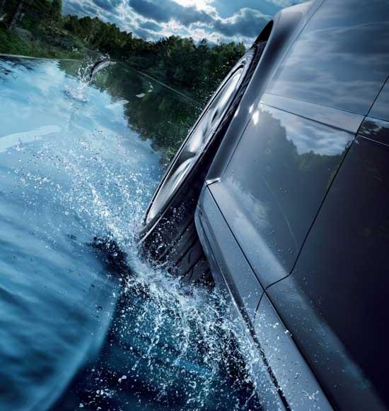 Эффект аквапланирования возникает от 25 км/ч