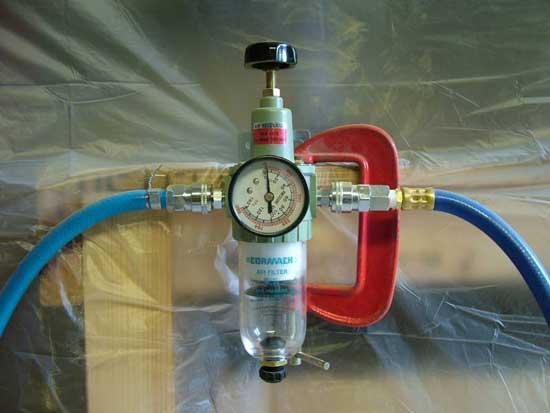 Воздушный фильтр перед пневмооборудованием