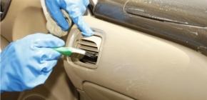 Чистка салона автомобиля: выбор чистящих средств, особенности уборки