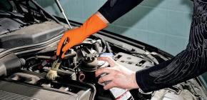Эффективные средства для мойки двигателя автомобиля без смывания водой