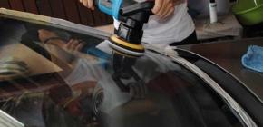 Как правильно подбирать средства для полировки автомобильного лобового стекла