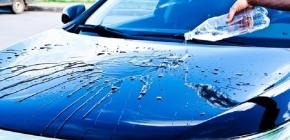 Применение жидкого стекла для полировки кузова авто