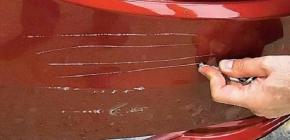 Мелкий ремонт машины: как самостоятельно убрать царапину
