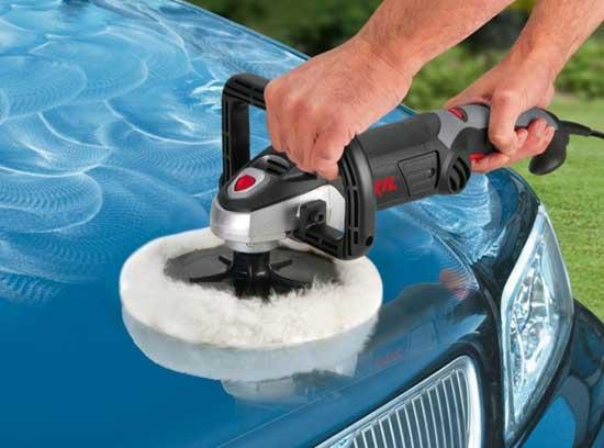 Электрические сетевые полировальные машины наиболее распространены, поскольку и стоят недорого, и производительность имеют высокую.