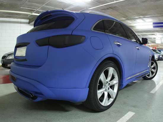 Раскроем секреты технологии, позволяющей выполнить матовую покраску кузова автомобиля своими силами.