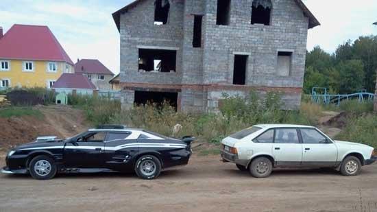 Приложив творческую мысль и руки, из Москвича можно сделать автомобиль, который станет центром внимания.