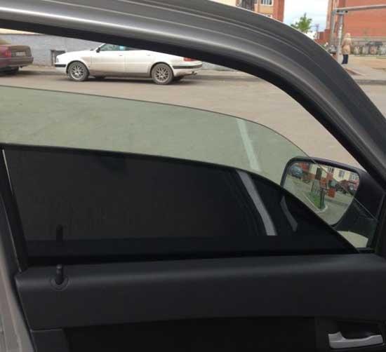 Дополнительное тонированное стекло в любое время может быть убрано