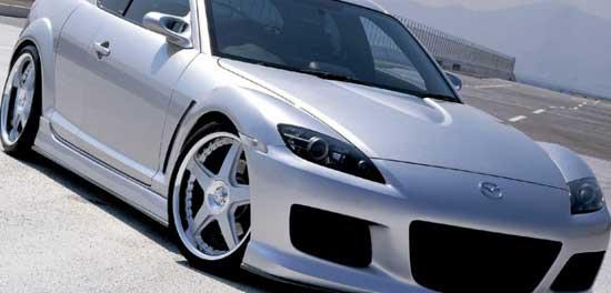 Многие дизайнеры считают автомобили марки Мазда шикарным объектом для тюнинга - и это действительно так...