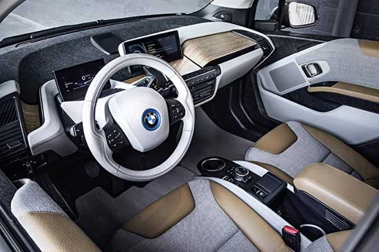 Заводской эко-тюнинг электрокара BMW
