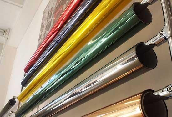Выбор цветных тонировок для автомобиля