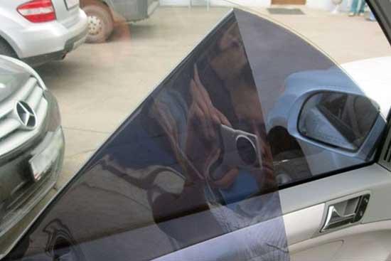 Пленка на силиконовой основе для тонировки автостекол